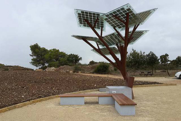 Israel Plants Solar Trees