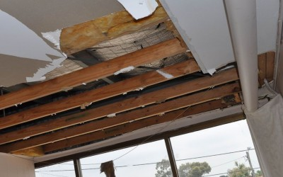 Cold Tassie Winter Leads To Flooded Ceilings