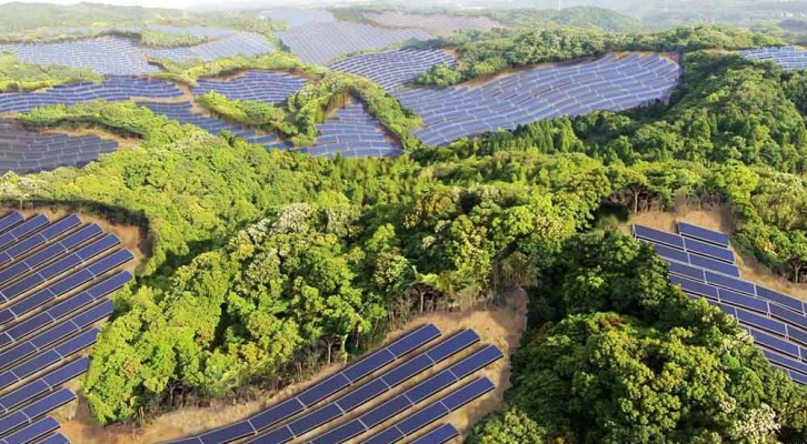 Solar Panels Take Over Japanese Golf Courses
