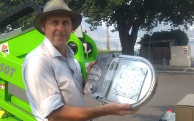 LED Street Lights Cut LCC Power Bill By 72%